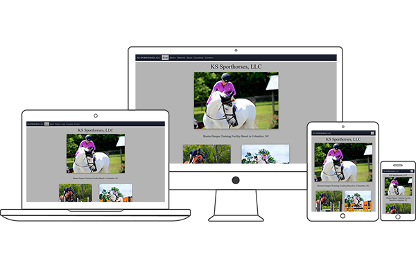 KS Sporthorses, LLC - Equestrian Website Design by 2nd Mouse Media