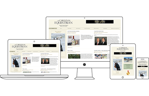 The Carolinas Equestrian - Equestrian Website Design by 2nd Mouse Media